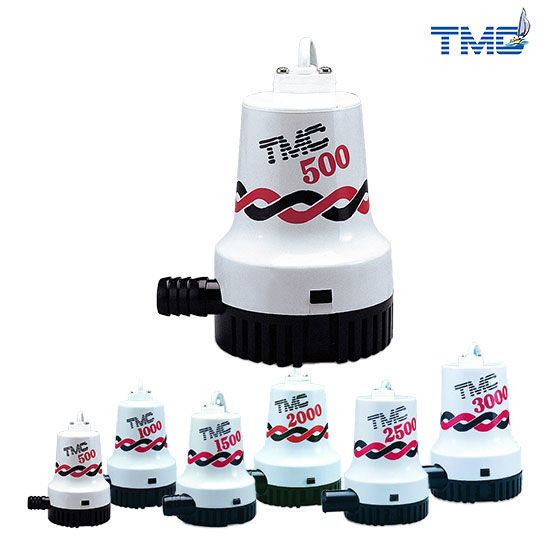 TMC 12v Bilge Pump 500GPH Submersible
