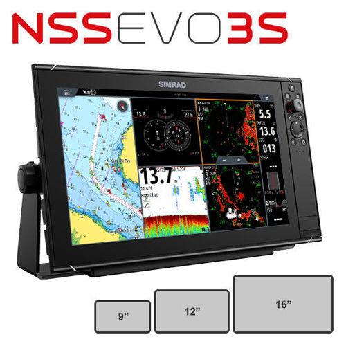 รูปภาพของ หน้าจอ NSS Evo3 จาก Simrad
